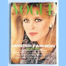 Vogue Magazine - 1980 - November